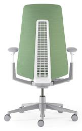 Green task chair