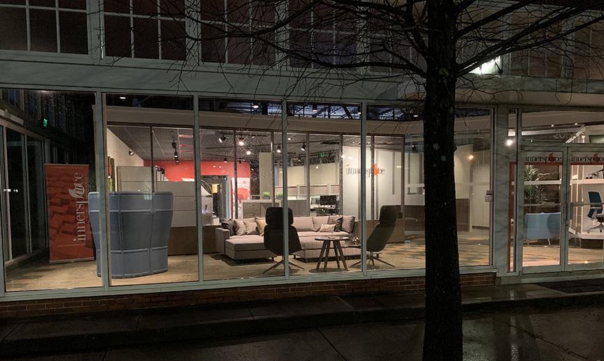 Innerspaice Mobile showroom exterior building