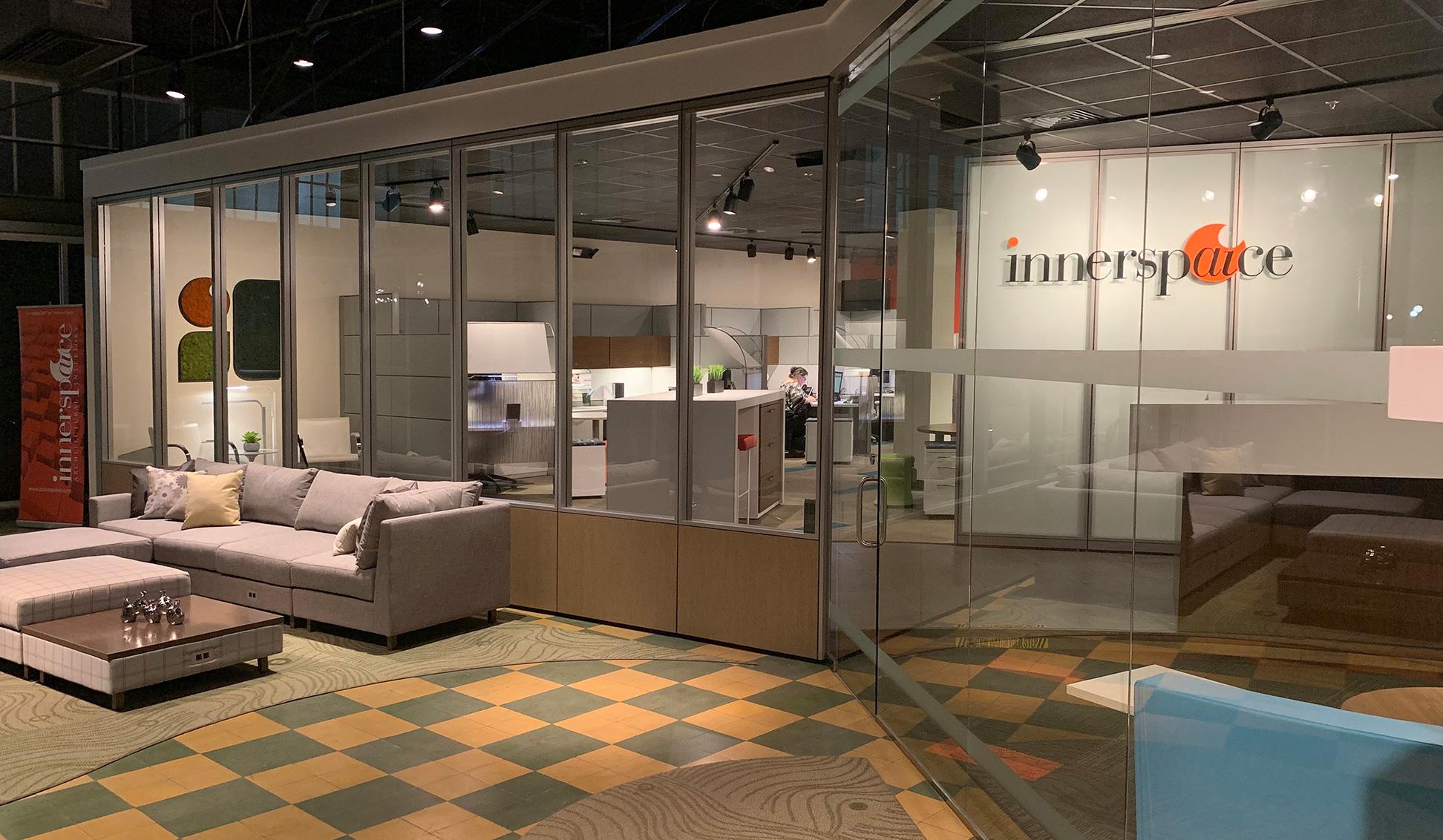 Innerspaice Mobile Showroom interior